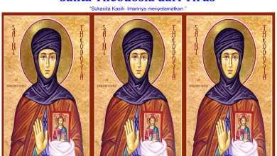 Santa Theodosia dari Tirus