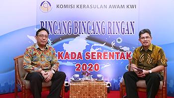 Komsos KWI, Kerawam KWI, Konferensi Waligereja Indonesia, Pilkada Pandemi, Pilkada 2020, Desember 2020, KPU, Indonesia, Gereja Katolik, Katekese, umat katolik, yesus kristus
