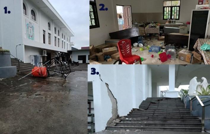 Bencana Alam, Sulawesi Barat, Gempa Bumi, Belarasa, Jaringan Caritas, Caritas Indonesia, Komsos KWI, Gereja Katolik Indonesia, Katolik, Konferensi Waligereja Indonesia, KWI
