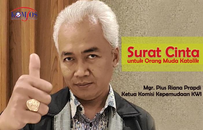 28 Maret, Mgr Pius Riana Prabdi, OMK, Orang Muda Katolik Indonesia, Ketua Komkep KWI, KWI, Konferensi Waligereja Indonesia, Komsos KWI, Covid - 19