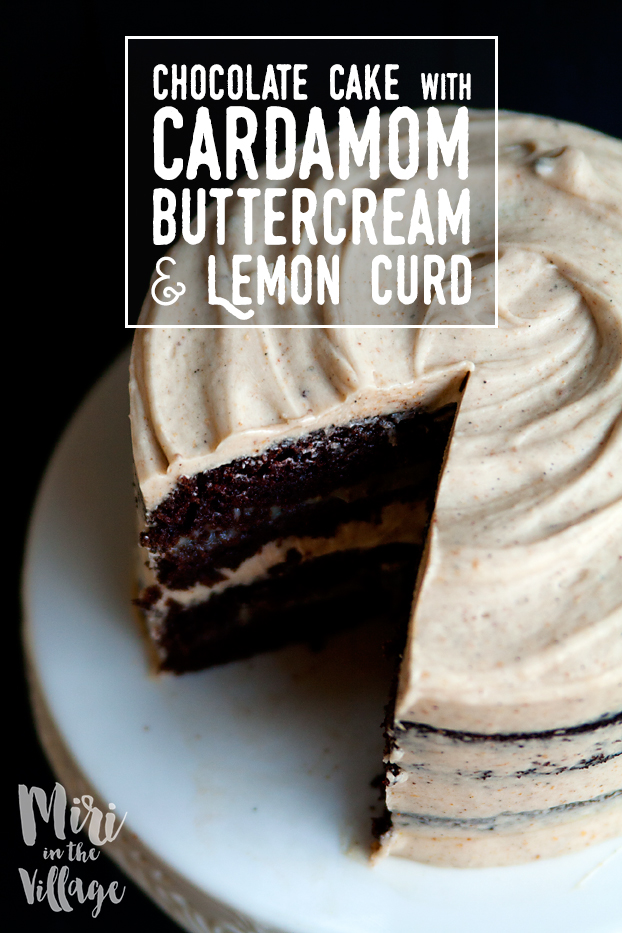 cardamom buttercream