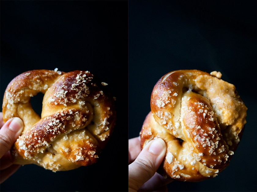 Beer Pretzels with Chipotle Queso