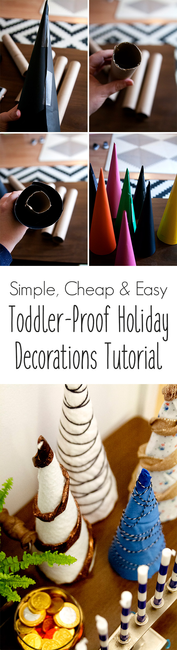 Toddler-Proof Holiday Decorations Tutorial