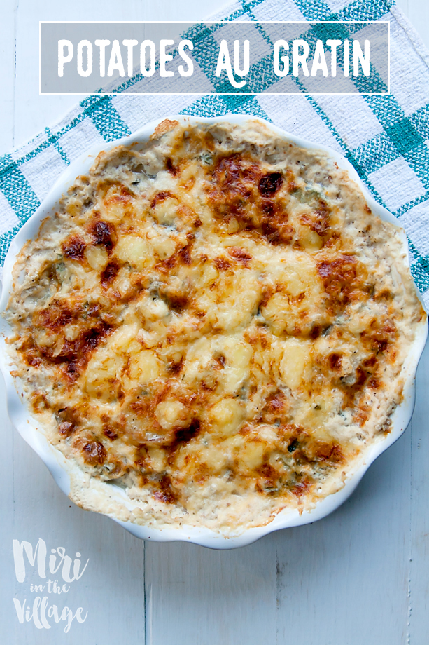 Potatoes and Squash Au Gratin