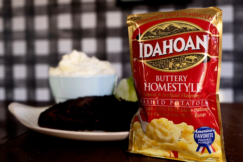 Dinner Hack: Slow Cooker Balsamic Pot Roast & Idahoan® Mashed Potatoes