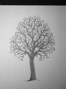 Calligram Big Family Tree