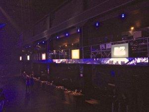 Backlight para eventos