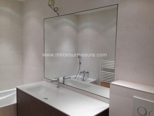 Miroir Salle De Bain Tablette Bois - Idées de décoration d ...