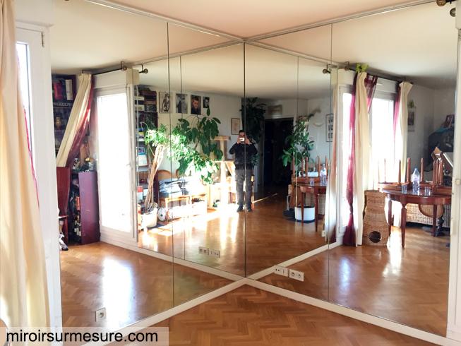 miroir sur mesure verre sur mesure