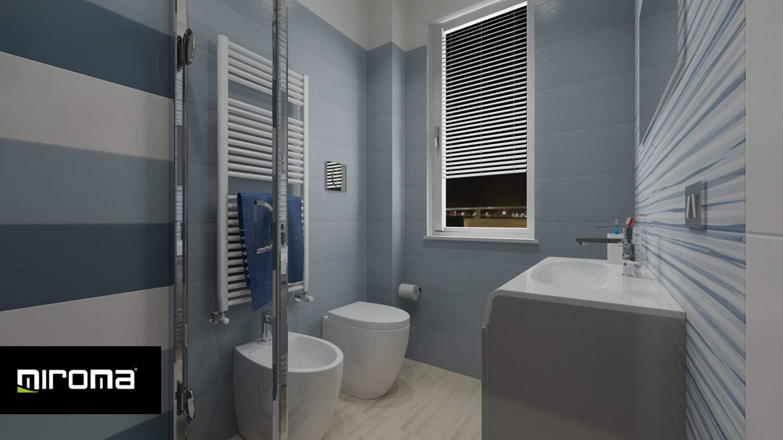 Progetto bagno con Supergres Lace e Imola Ceramiche