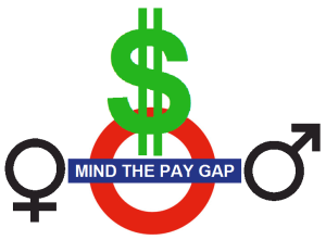 """""""Gender Wage Gap Warning"""" photo by Mike Licht via Flickr Creative Commons. See the photo in context at: notionscapital.wordpress.com/2014/10/09/mind-the-gap/"""