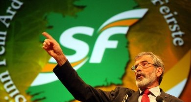 A Terribly Beautiful Veil: Sinn Fein and Economic Inequality in Ireland
