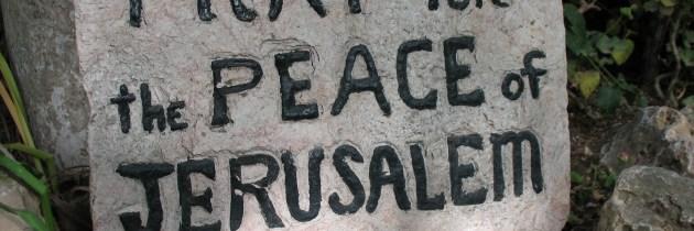 The Jerusalem Question
