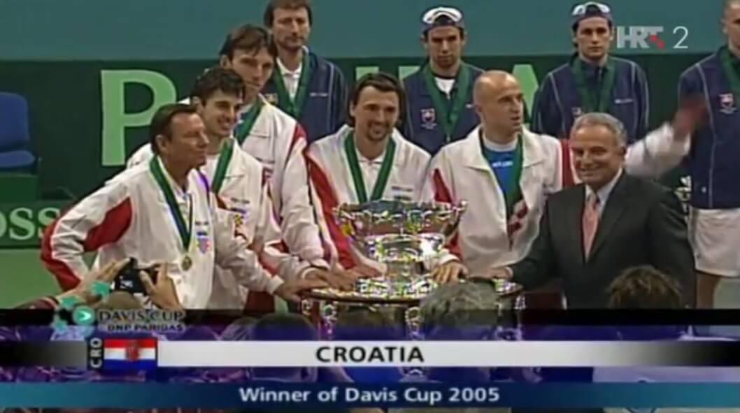 [4.12.] Hrvatska prvi puta u povijesti osvojila teniski Davis cup