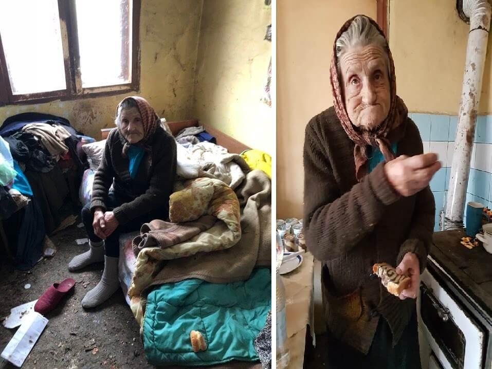 Baki Milki koja živi sama u trošnoj kućici bez struje i vode u pomoć stigli volonteri