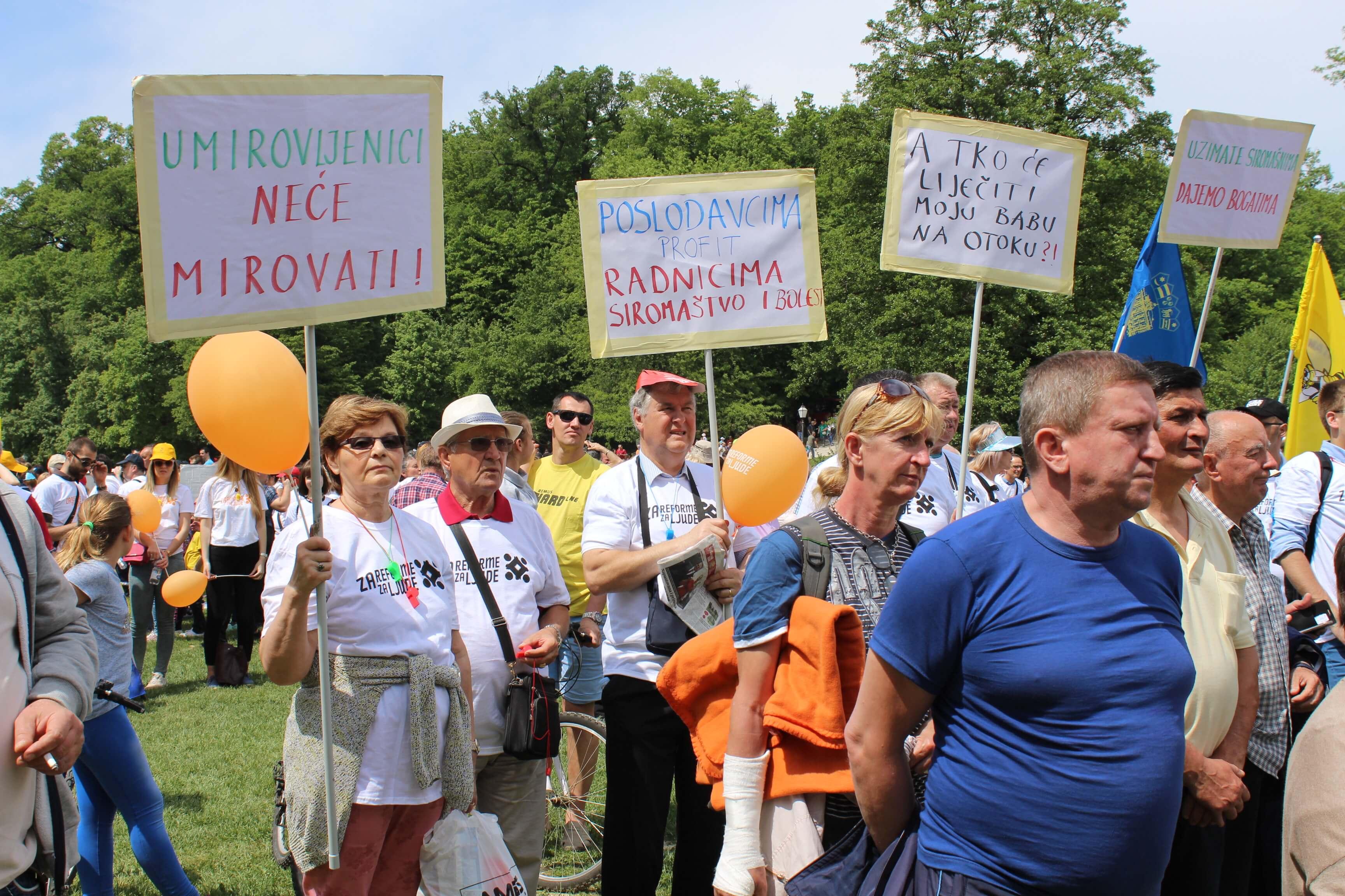 Petrović: Sindikatima ćemo se pridružiti u prosvjedu ako promjene stav o radu umirovljenika