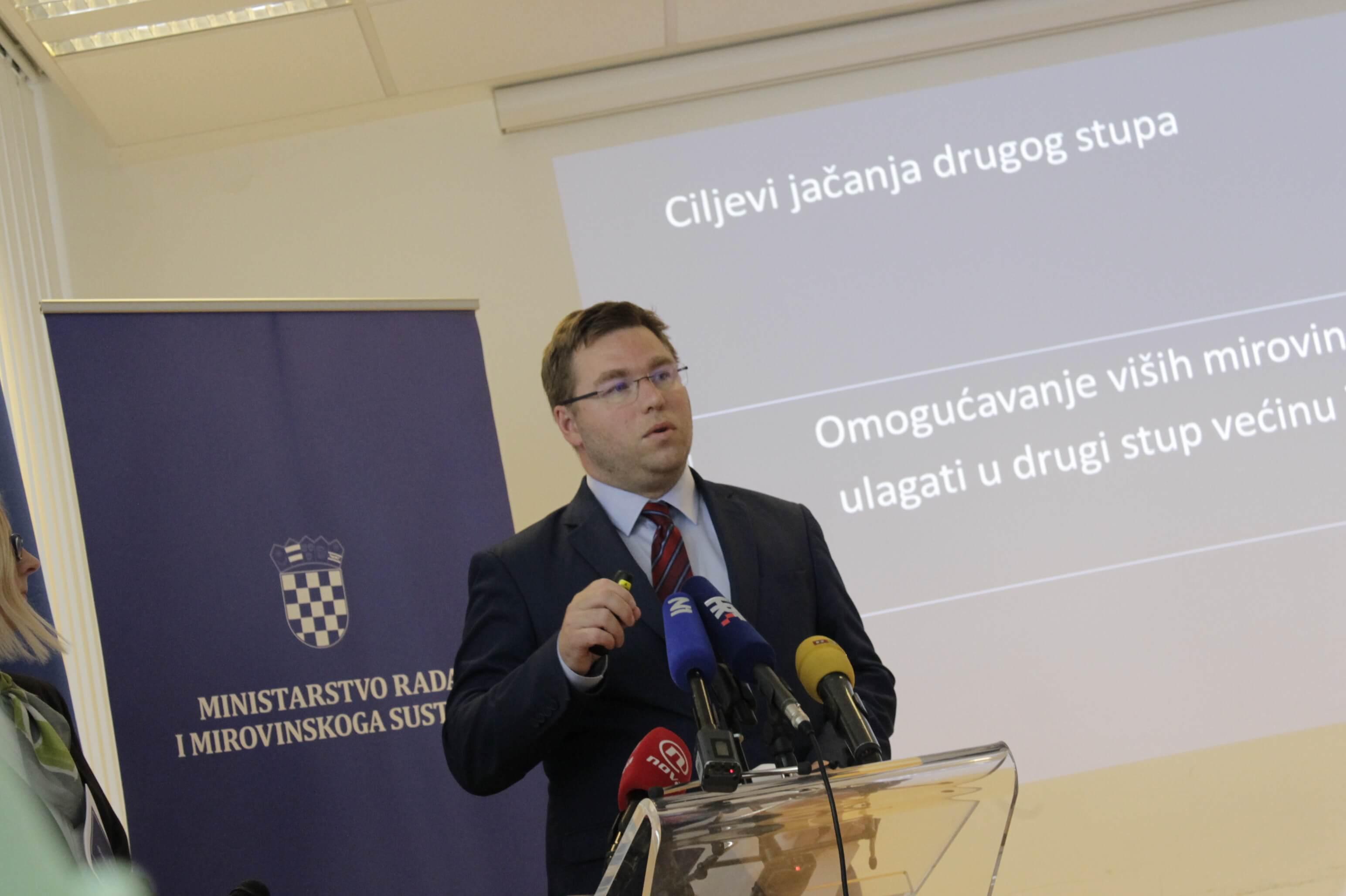 Ministra Pavića nakon godišnjeg čeka nova rasprava o dodatku na mirovine