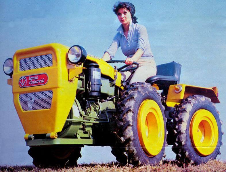 Žena na traktoru – podsjetnik na uspjeh legendarne tvornice 'Tomo Vinković'