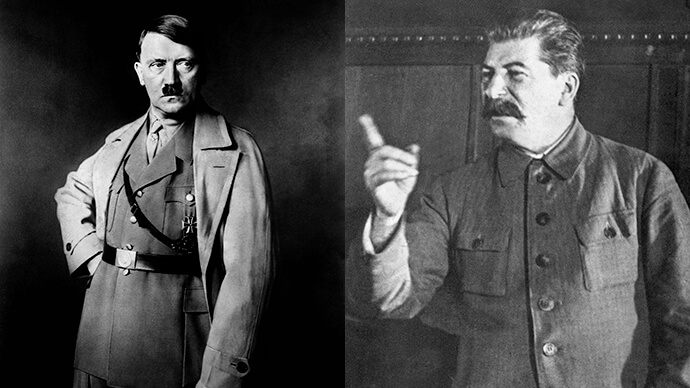 [23.8.] Hitler i Staljin raskomadali Poljsku, tri godine kasnije započela njihova međusobna bitka za Staljingrad
