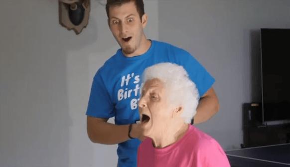Iznenađenje unuka povodom 92. rođendana iznenadilo je baku, nije očekivala takav dar