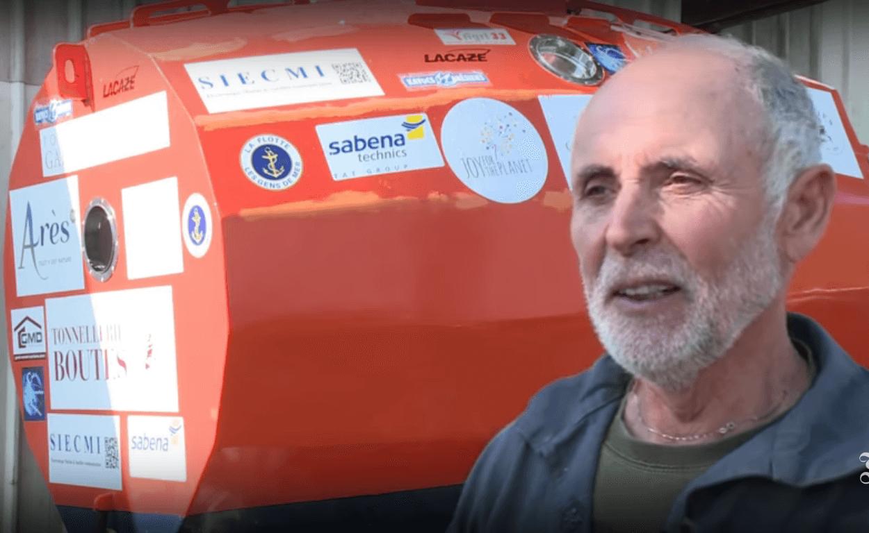 Umirovljenik u bačvi već 100 dana putuje Atlantskim oceanom, jači je od prirode!