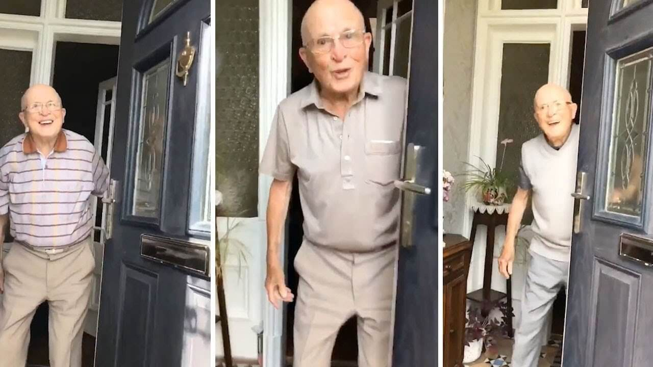 [VIDEO] Unuka snimala reakciju svog djeda svaki put kad bi došla na ručak, pogledajte kako je sretan