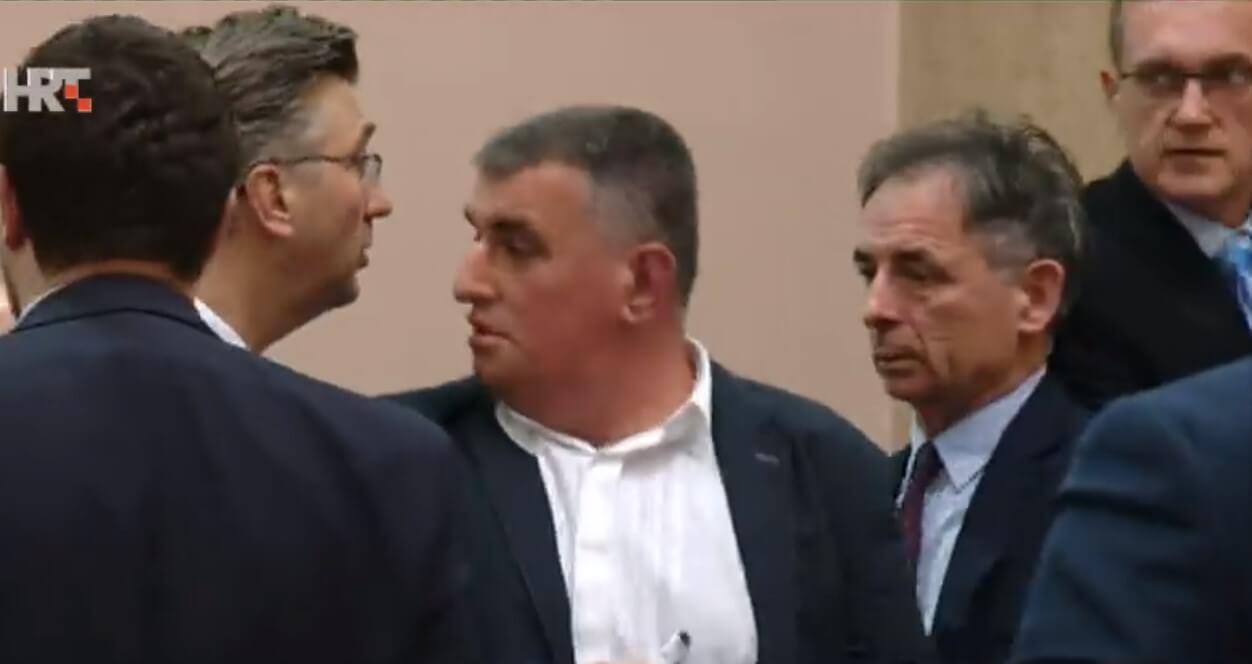 Ipak je snimljeno: Premijer Plenković krenuo na Grmoju, ali je zaustavljen