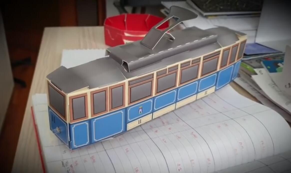 [VIDEO] Tehnički muzej izradio maketu starog zagrebačkog tramvaja. Bit će novi suvenir?