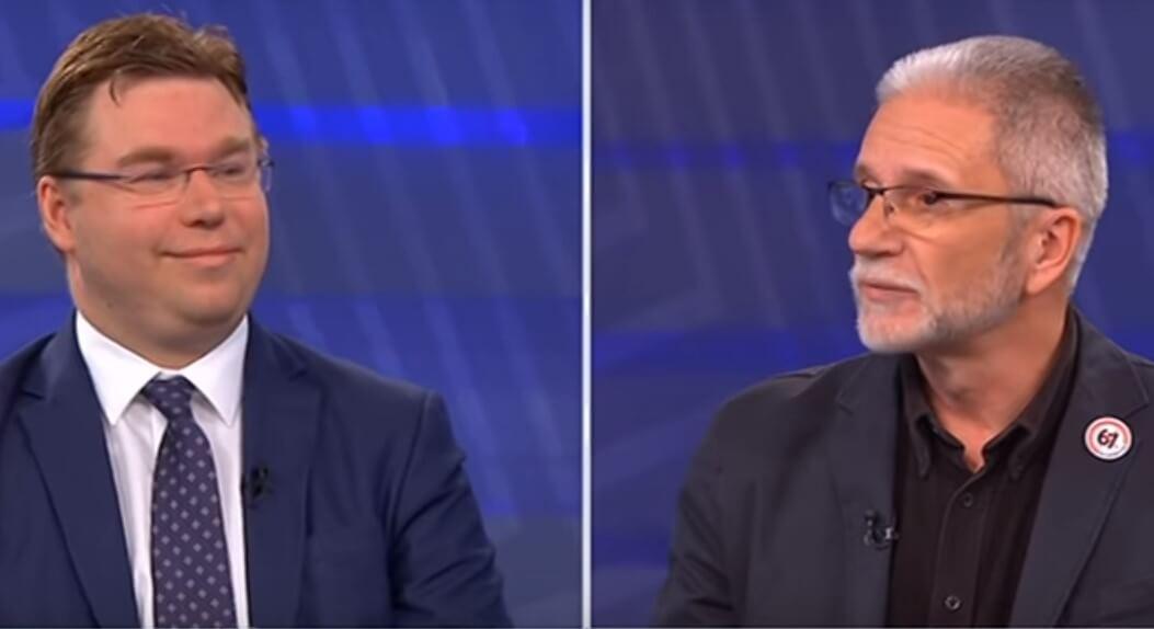 """Pavić: """"Referendum će značiti manje mirovine"""". Sever: """"Plašite građane!"""""""