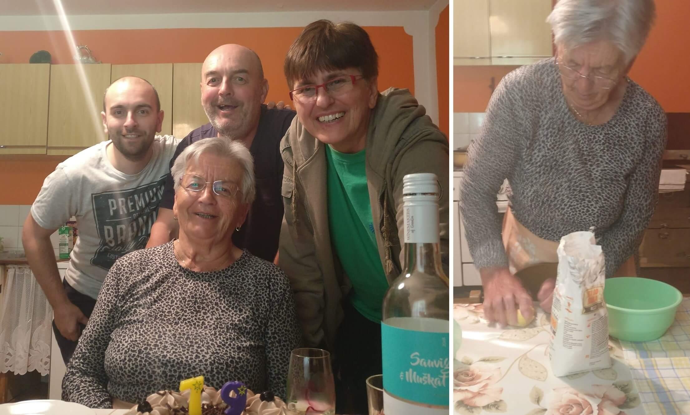 Baka Katica proslavila 79. rođendan: I dalje mijesi rezance, vozi bicikl i sadi povrće
