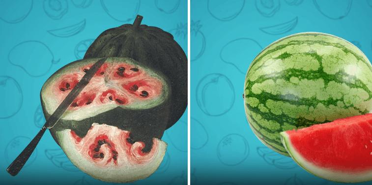 Pogledajte kako su neke namirnice izgledali prije nego što su ih ljudi pripitomili