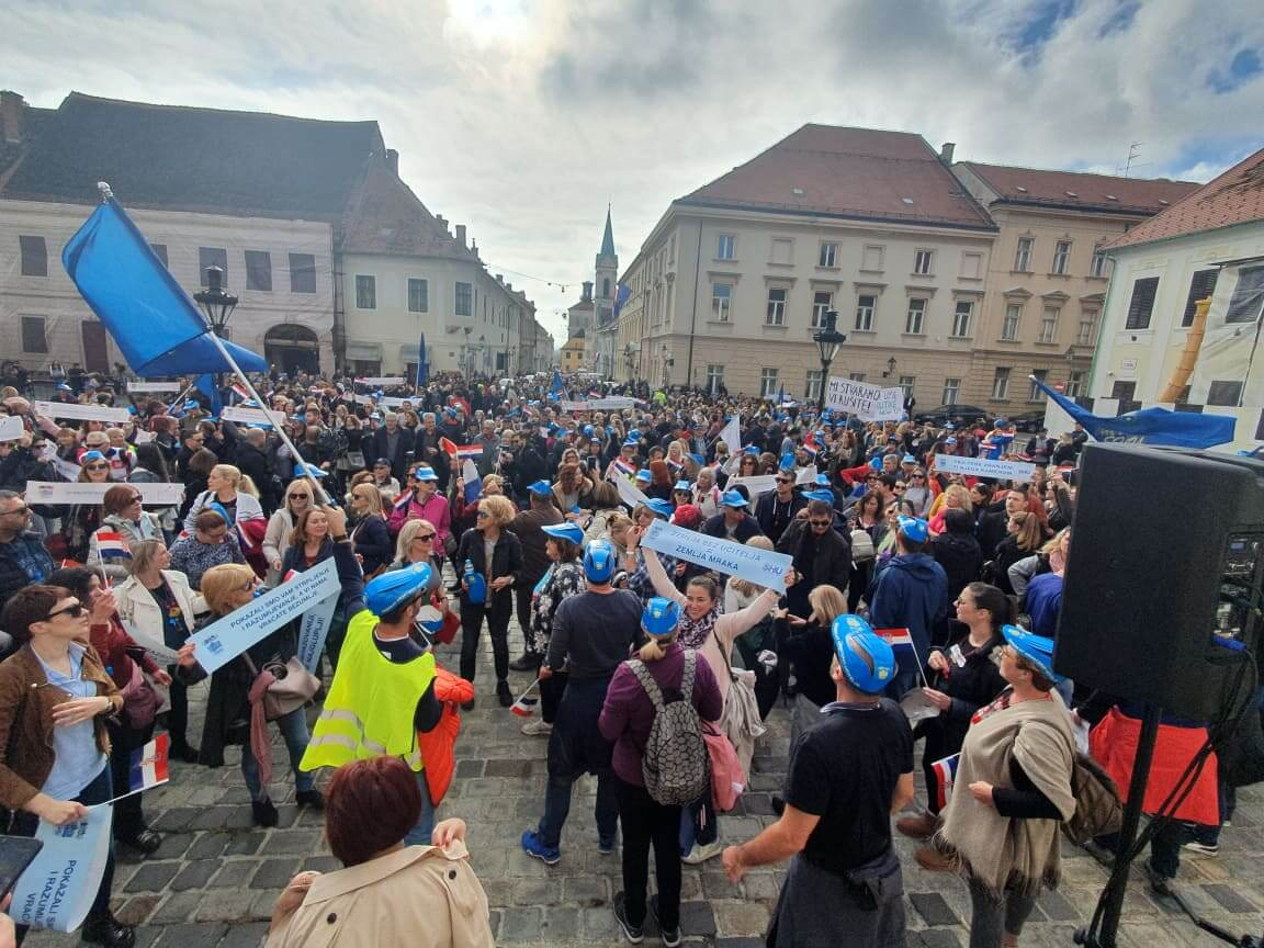 """Veliki prosvjed učitelja sutra na Trgu bana Jelačića: """"Hrvatska mora bolje!"""""""