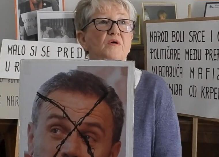 """Najstarija zagrebačka aktivistica: """"Alergična sam na Bandića od kojeg se često gušim"""""""