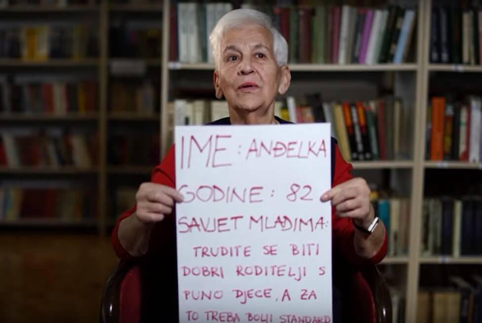 Umirovljenici s Trešnjevke snimili savjete mladima, pogledajte što su rekli