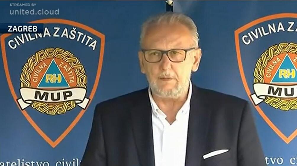 Stožer objavio nove brojke, Božinović ponavljao da se Stožer priprema za jesen