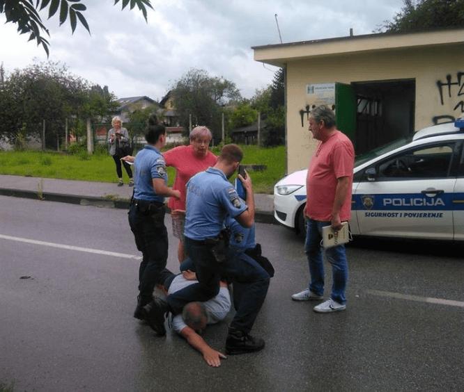 Policija je ovako privela Zagrepčanina koji je spasio kvart od poplave