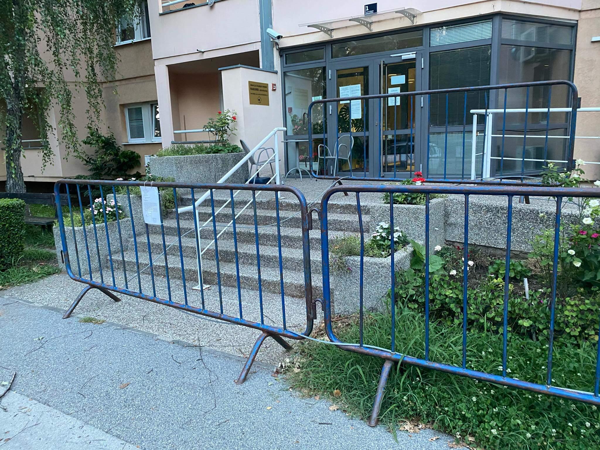 dom za starije ograda