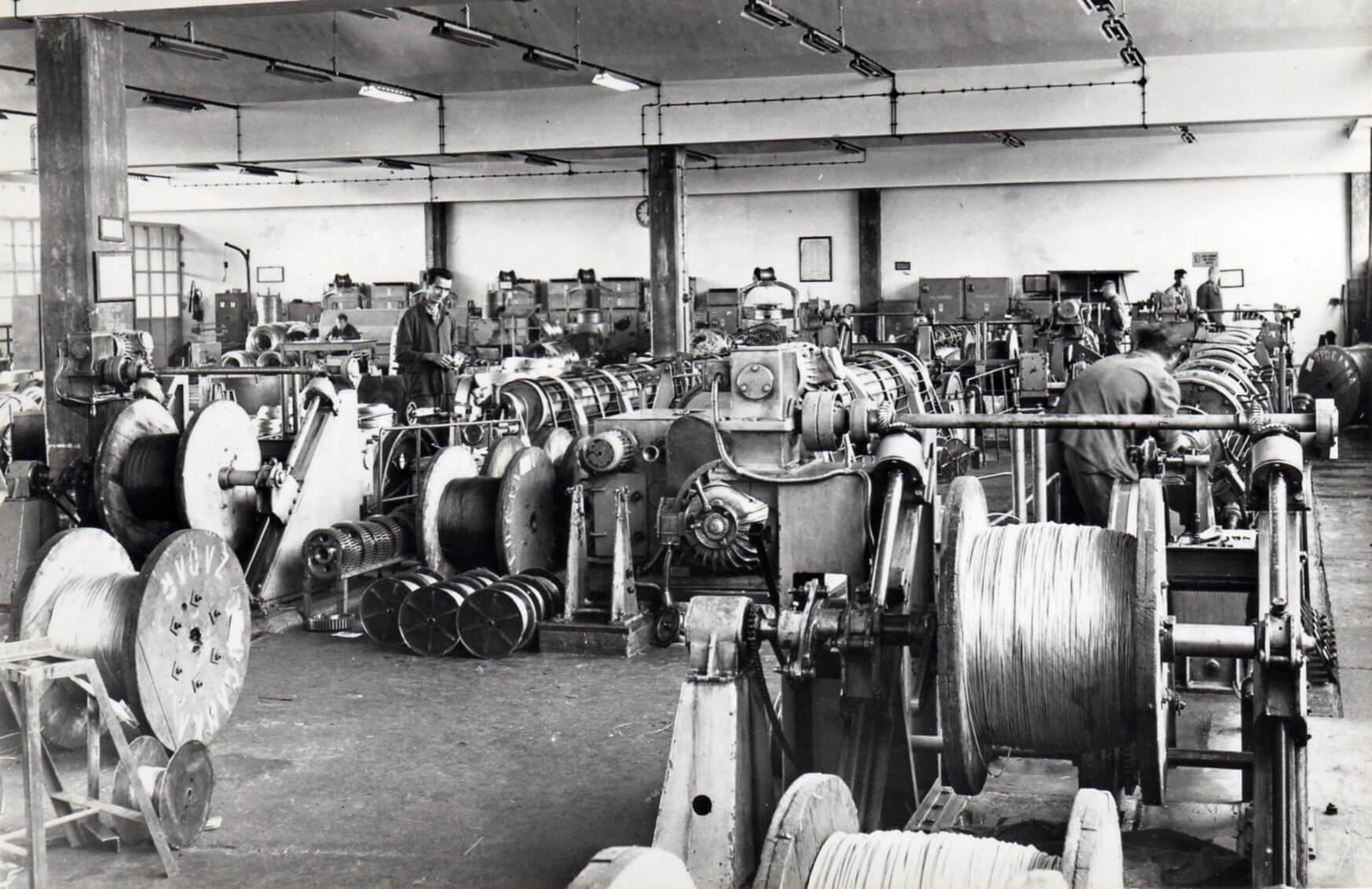 Ovako je nekada izgledao pogon za proizvodnju užadi