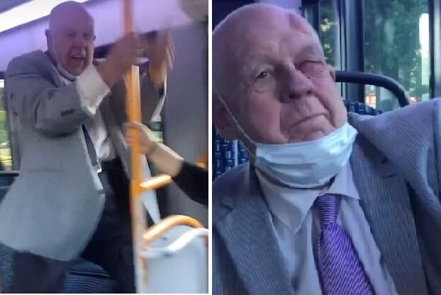 [VIDEO] Umirovljenik tamnoputim putnicima u busu govorio da su majmuni pa dobio batina