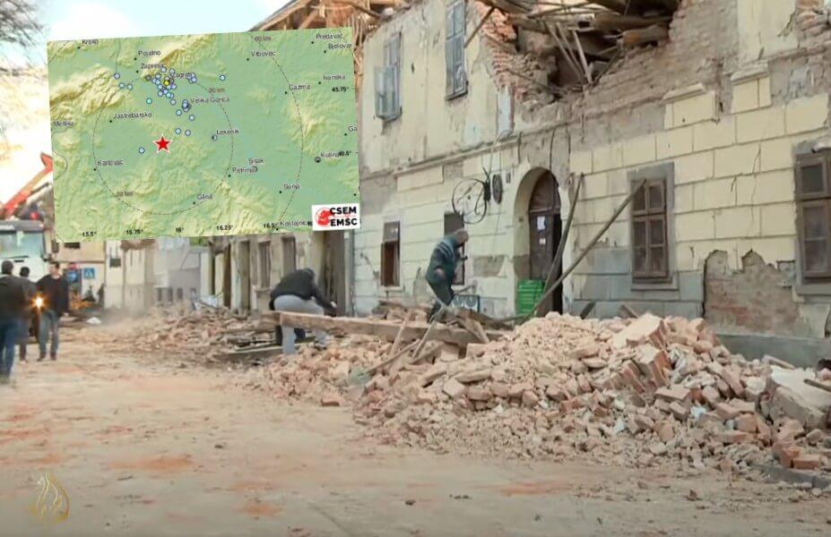 Novi potresi u Petrinji: Hrvati su osjetili preko 40 potresa u zadnja dva dana