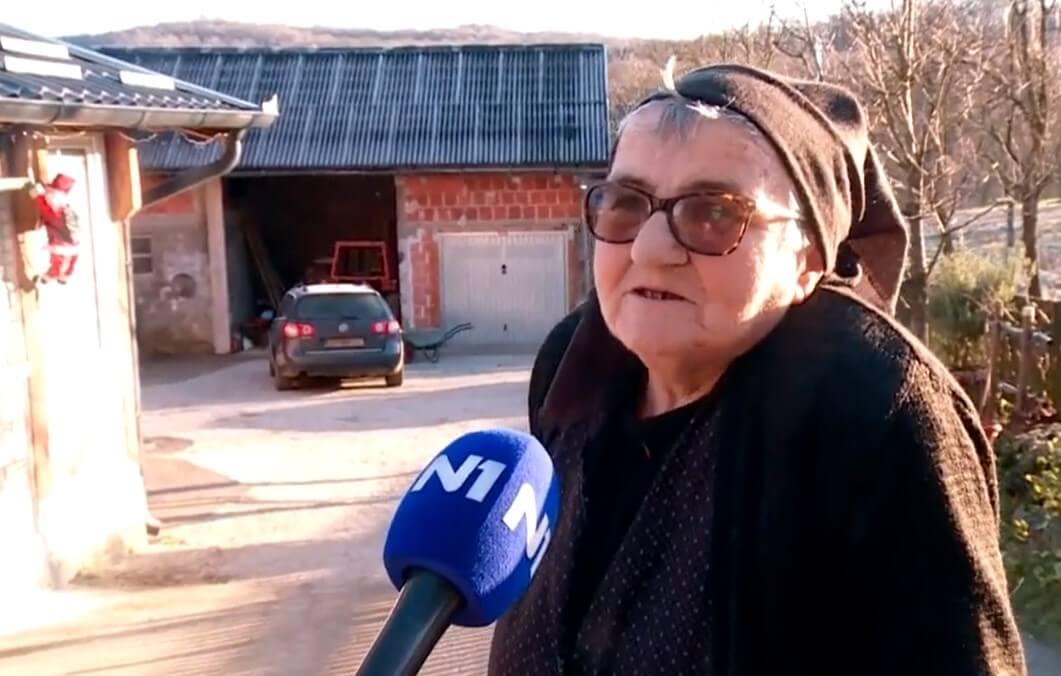 """Baka Marija o potresu: """"Samo da nam je mir, da možemo u miru leći i u miru se dići"""""""