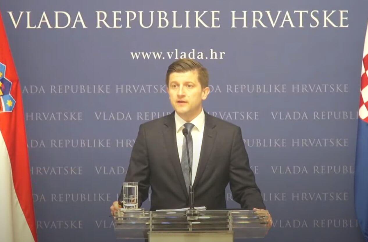 Marić govorio o Planu oporavka: Najavio 77 reformi i 152 ulaganja, među njima je reforma obiteljskih mirovina