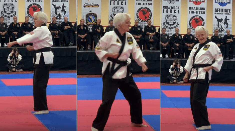 Ovako se ruše stereotipi: Umirovljenica (83) pred Chuckom Norrisom izborila crni pojas u karateu