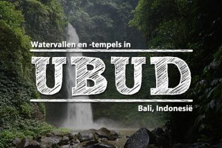 Watervallen en -tempels in Ubud