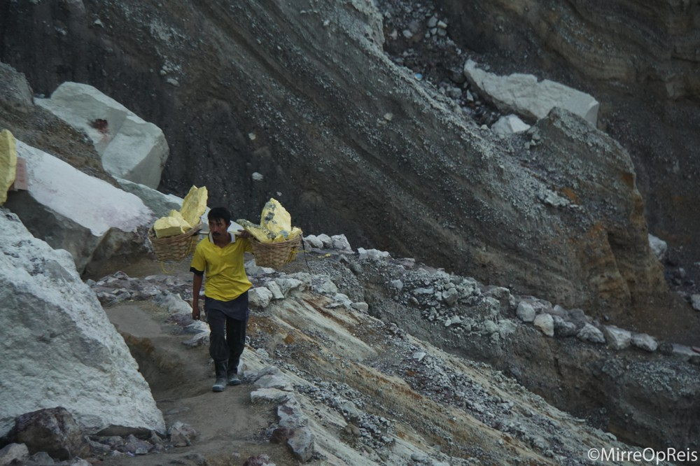 Ijen vulkaan Java Indonesie 045