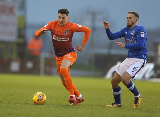 Regan Poole (left) plays for the city of Northampton