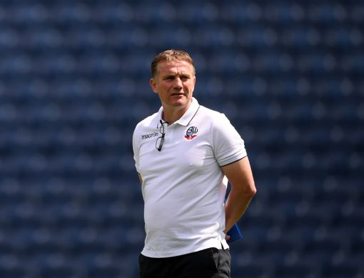 WEST BROMWICH, ENGLAND - AUGUST 04: Phil Parkinson, Manager of Bolton Wanderers walks out on the pitch prior to the Sky Bet Championship match between West Bromwich Albion and Bolton Wanderers at The Hawthorns on August 4, 2018 in West Bromwich, England. (Photo by Laurence Griffiths/Getty Images)
