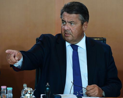 German Vice Chancellor, Economy and Energy Minister Sigmar Gabriel