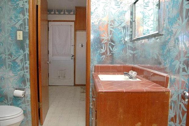 80sStyle Bathrooms  Mirror80