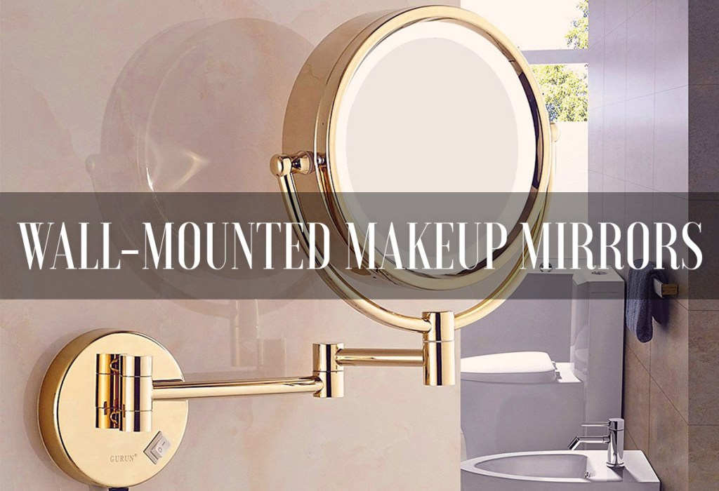 Best makeup mirrors of 2018 reviews mirrorank best lighted makeup mirrors magnifying wall mounted aloadofball Gallery